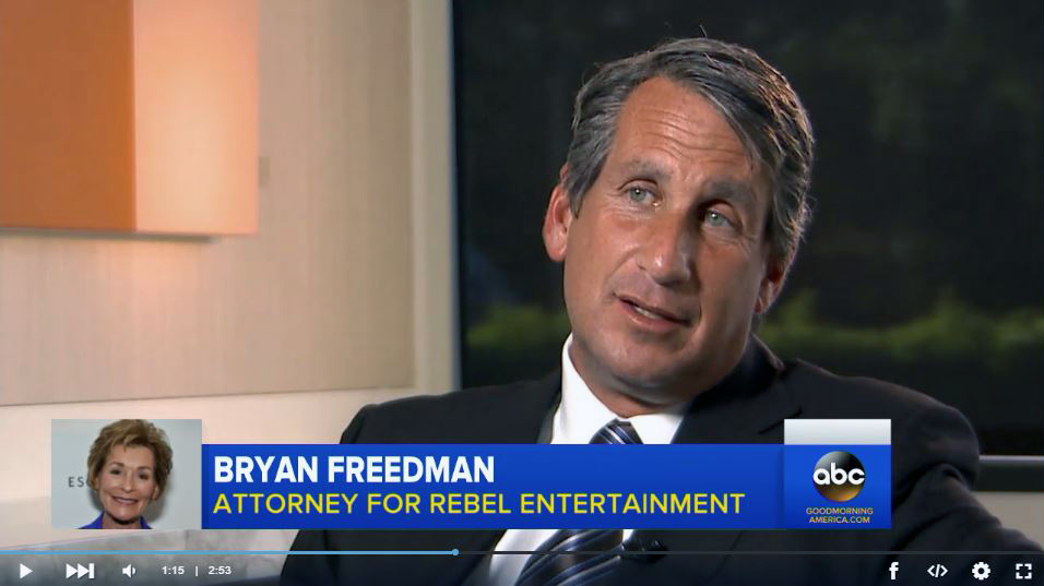 Bryan Freedman on Good Morning America interview