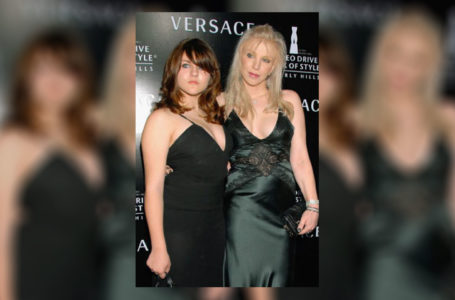 Frances Bean Cobain, left, and Courtney Love (Charley Gallay/Getty Images)