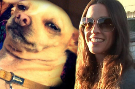 Alanis and her dog Circus