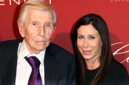 Sumner Redstone and girlfriend Sydney Holland (Getty Images)