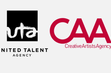 photo: UTA & CAA logos | (Credits: COURTESY OF UTA/CAA)