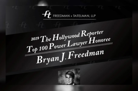 2019 THE HOLLYWOOD REPORTER TOP 100 POWER LAWYER HONOREE BRYAN FREEDMAN (Photo: 'Bryan Freedman' Courtesy of Freedman + Taitelman, LLP) | by Rodezno Studios (RodeznoStudios.com)