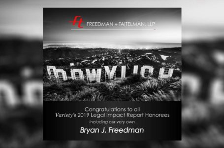 FTLLP - Variety Legal Impact Report 2019 - Bryan Freedman- by Rodezno Studios