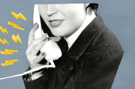 photo: Female on the phone graphic | (CREDIT: by Clifford Ling/ANL/REX/Shutterstock.)