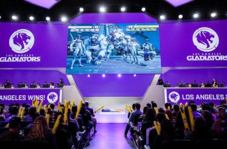 Los Angeles Galdiators Overwatch Team - Stage