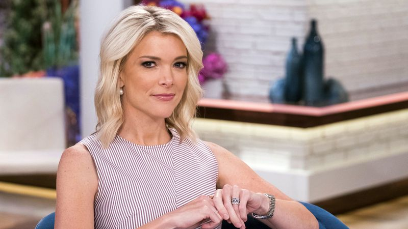 "photo: Megyn Kelly poses on the set of her show, ""Megyn Kelly Today"" at NBC Studios on Thursday, Sept, 21, 2017, in New York. 