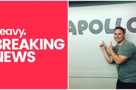 photo: heavy. Breaking News (type) & Jason Malachi pointing at Apollo logo | (CREDIT: Instagram)