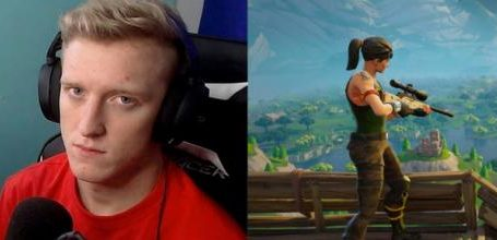 photo: 'Tfue's contract was illegal, according to his lawyer.' | (Credit - (1) Tfue's Twitch (1) Epic Games promotional material)