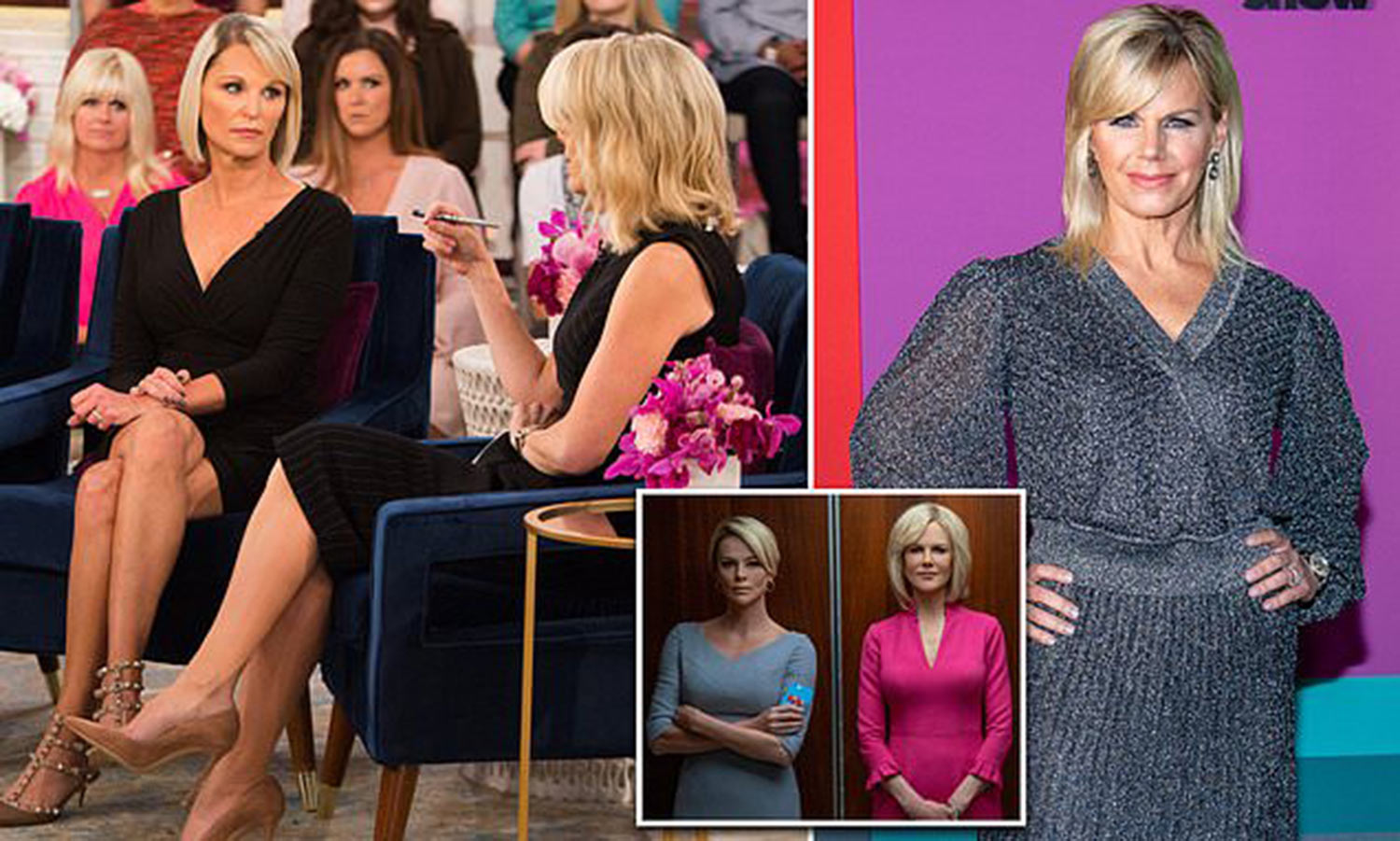 I have no house or TV career. I have nothing': Former Fox News host Juliet Huddy broke $500K NDA to speak with Bombshell writer, while Megyn Kelly refused and Gretchen Carlson was silenced by $20M settlement - featured image by Daily Mail