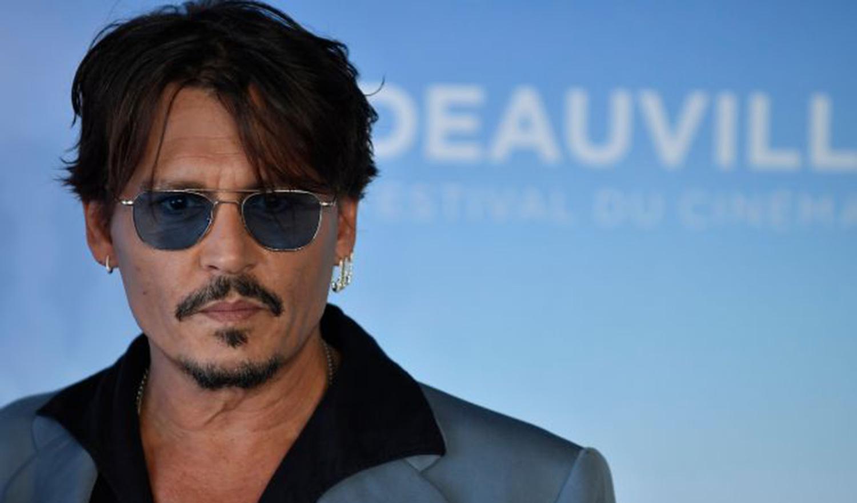 Johnny Depp -JULIEN DE ROSA/EPA-EFE/Shutterstock