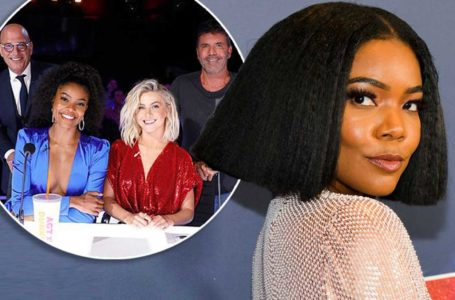 Singer Gabrielle Union, pictured left with her fellow judges on America's Got Talent, claims the working environment on the show was 'toxic'