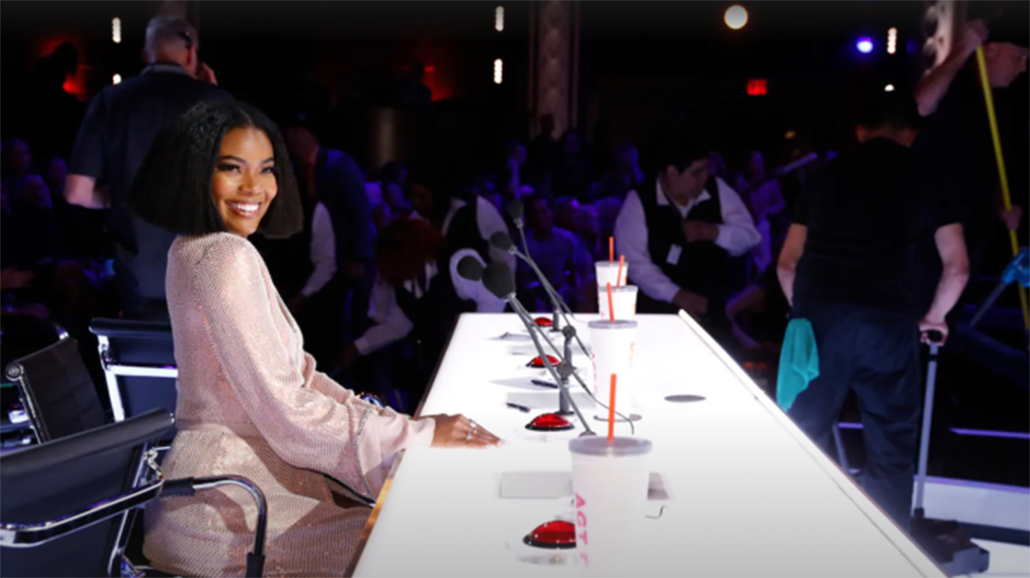 The L.A.'s Finest star will not be hitting the buzzer on the Simon Cowell competition series anymore, but she is aiming to make things better at AGT (NBC)