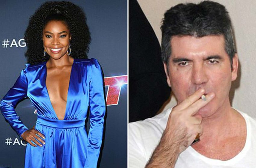America's Got Talent judge Gabrielle Union is set to sue Simon Cowell claiming he put her life in danger by smoking on set