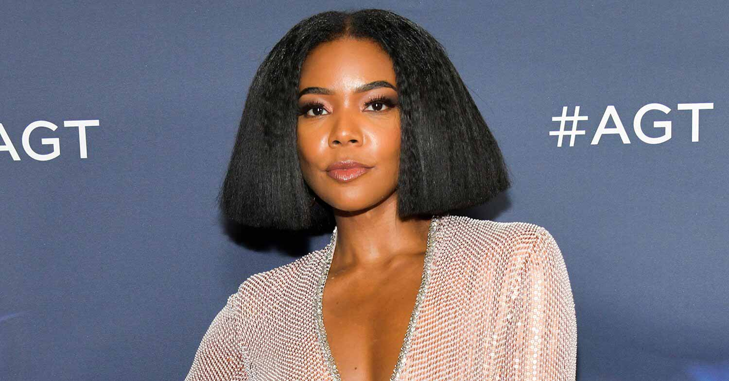 Gabrielle Union poses with AGT stop-and-repeat. | Photo: People