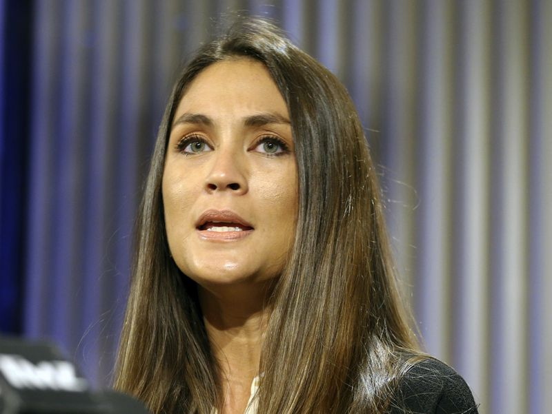 Dominique Huett claims Weinstein sexually assaulted her in Los Angeles in 2010. (Reed Saxon/AP)
