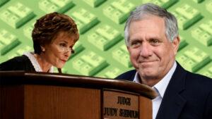 Judge Judy | Les Moonves | credit: AP