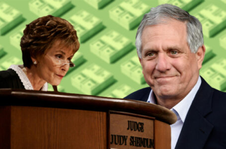 Judge Judy | Les Moonves | credit: AP