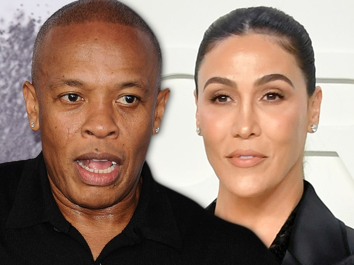 Dr Dre & Nicole Young (Credit: Getty)