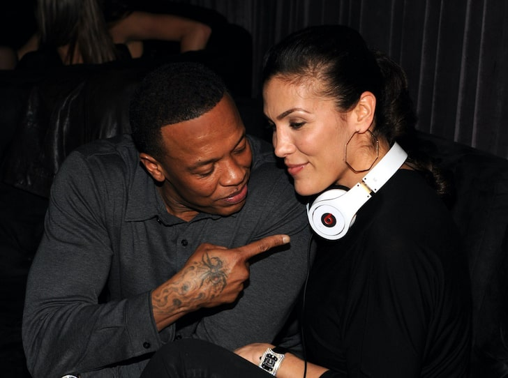 DR. Dre and Nicole -- Happier Times (Credit: Getty)