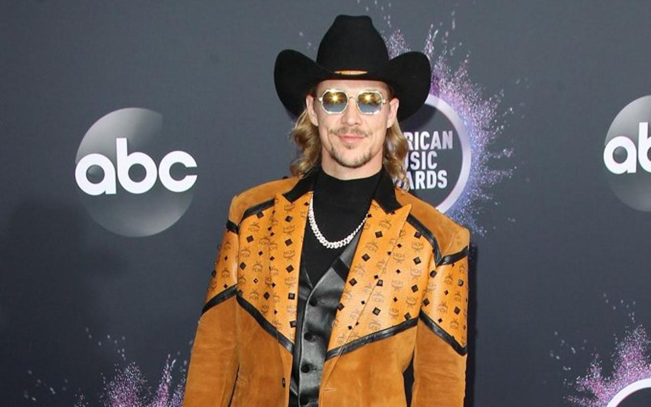 Diplo at the American Music Awards - ABC (Credit: WENN)