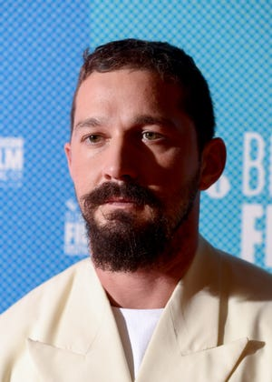 "Shia LaBeouf attends the ""Honey Boy"" European Premiere during the 63rd BFI London Film Festival. (Credit: Gareth Cattermole, Getty Images For BFI)"