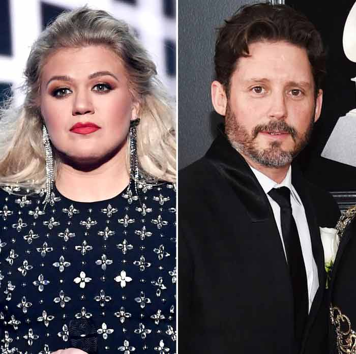 Kelly Clarkson and Brandon Blackstock Rob Latour/Shutterstock; Evan Agostini/Invision/AP/Shutterstock