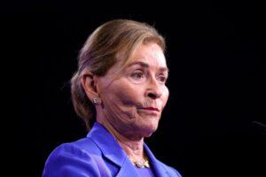 "Judith ""Judge Judy"" Sheindlin in 2020 (Photo by Eva Marie Uzcategui/AFP via Getty Images)"