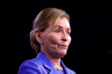 "Judith ""Judge Judy"" Sheindlin in 2020 (Photo by Eva Marie Uzcategui/AFP via Getty Images)"