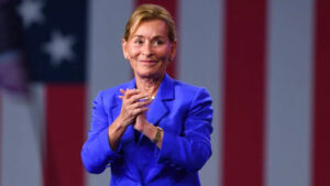 Judge Judy - Mike Bloomberg Super Tuesday Rally (credit: AP)