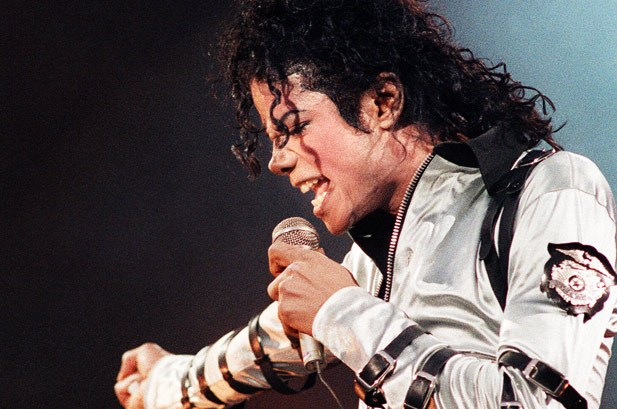 Michael Jackson performs during the 'Bad' Tour at the Los Angeles Memorial Sports Arena on January 1989 in Los Angeles, California (Credit: Kevin Winter / Getty Images)