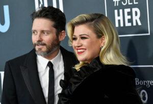 Kelly Clarkson & Brandon Blackstock (credit: Enstarz.com)