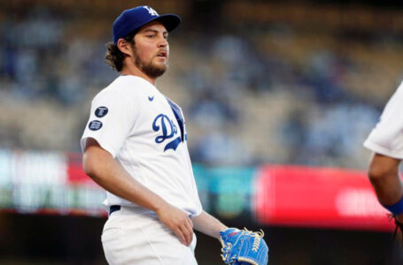 Los Angeles Dodgers pitcher Trevor Bauer remains on administrative leave as a Major League Baseball investigation is ongoing. Pasadena Police are conducting a separate investigation of Bauer for alleged sexual assault. (Credits: ASSOCIATED PRESS)