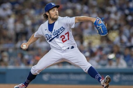 Dodgers pitcher Trevor Bauer was placed on a seven-day administrative leave by MLB. (PHOTO: JOVANNY LOPEZ / ZUMA PRESS)