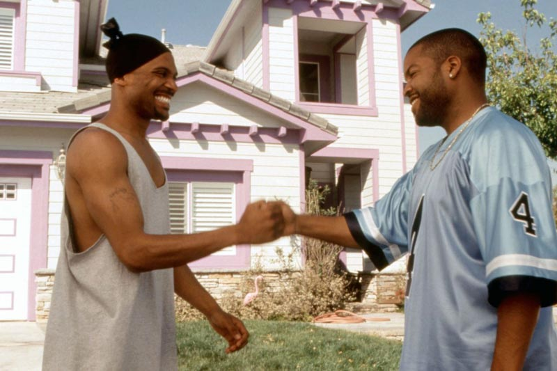Mike Epps and Ice Cube in 'Next Friday.' (PHOTO: NEW LINE CINEMA/EVERETT COLLECTION)