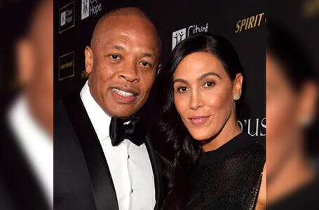 Dr. Dre and Nicole Young. (Photo: Lester Cohen / Getty Images for City of Hope)