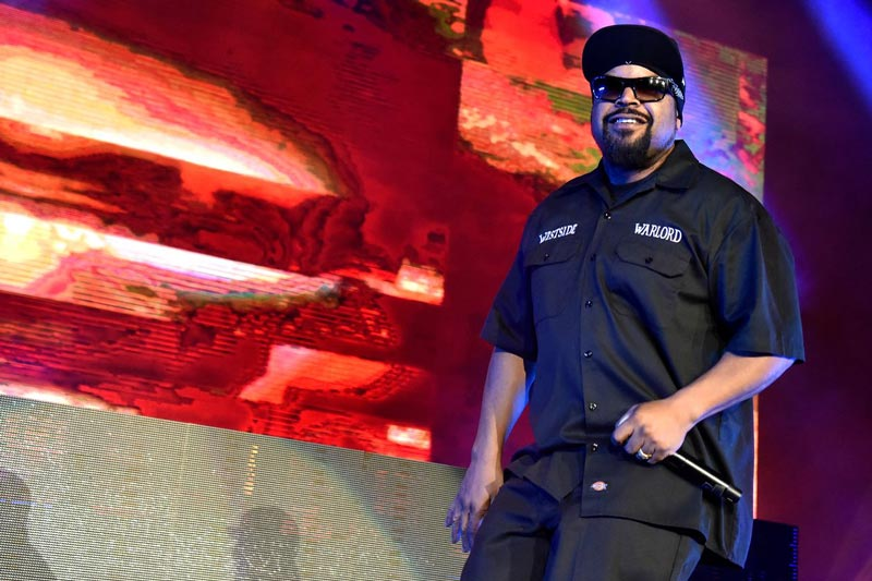 Ice Cube performing in Wheatland, Calif. in 2019. (PHOTO: TIM MOSENFELDER/GETTY IMAGES)